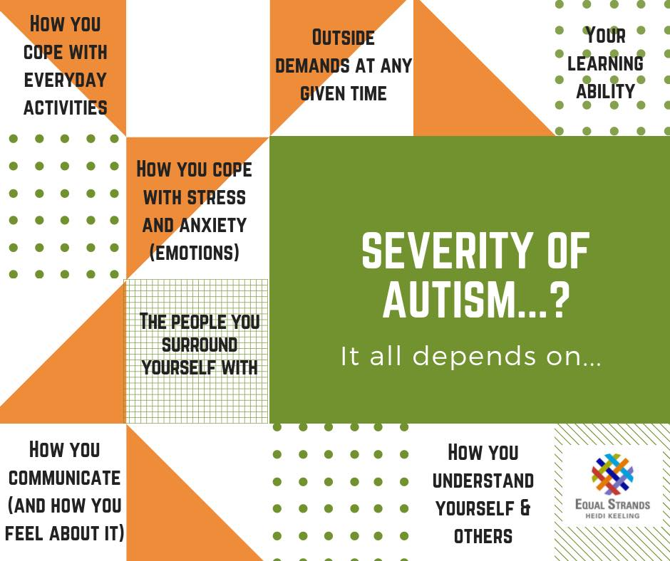 Severity of autism